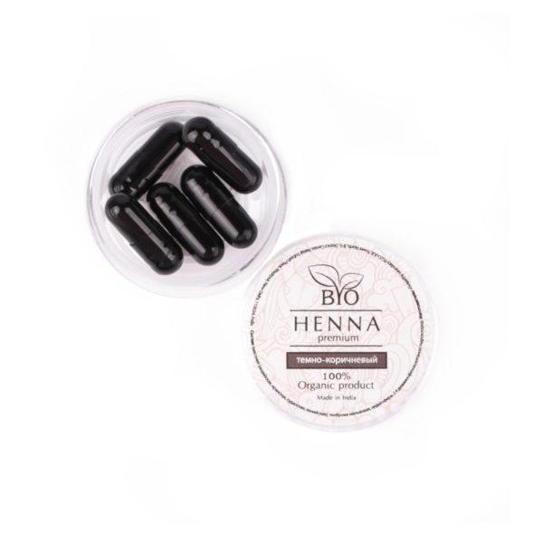 Bio Henna Premium – kapsułki (5szt – 1g) Oprawa Oka