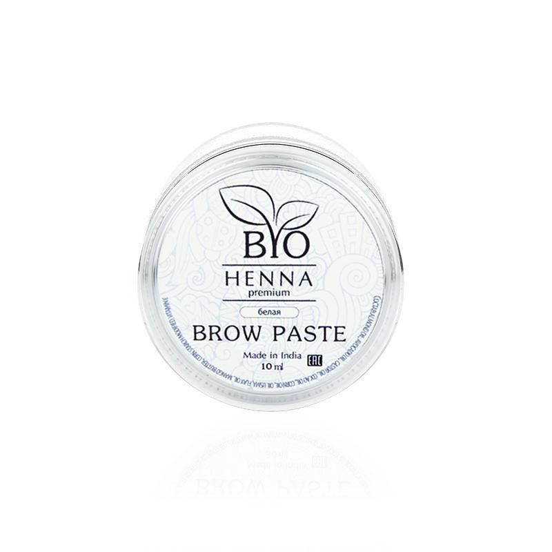 Bio Henna Premium Pasta do brwi 10 ml (biała) Henna pudrowa