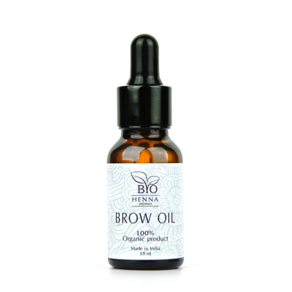 Bio Henna Premium Olejek do brwi 15 ml Oprawa Oka