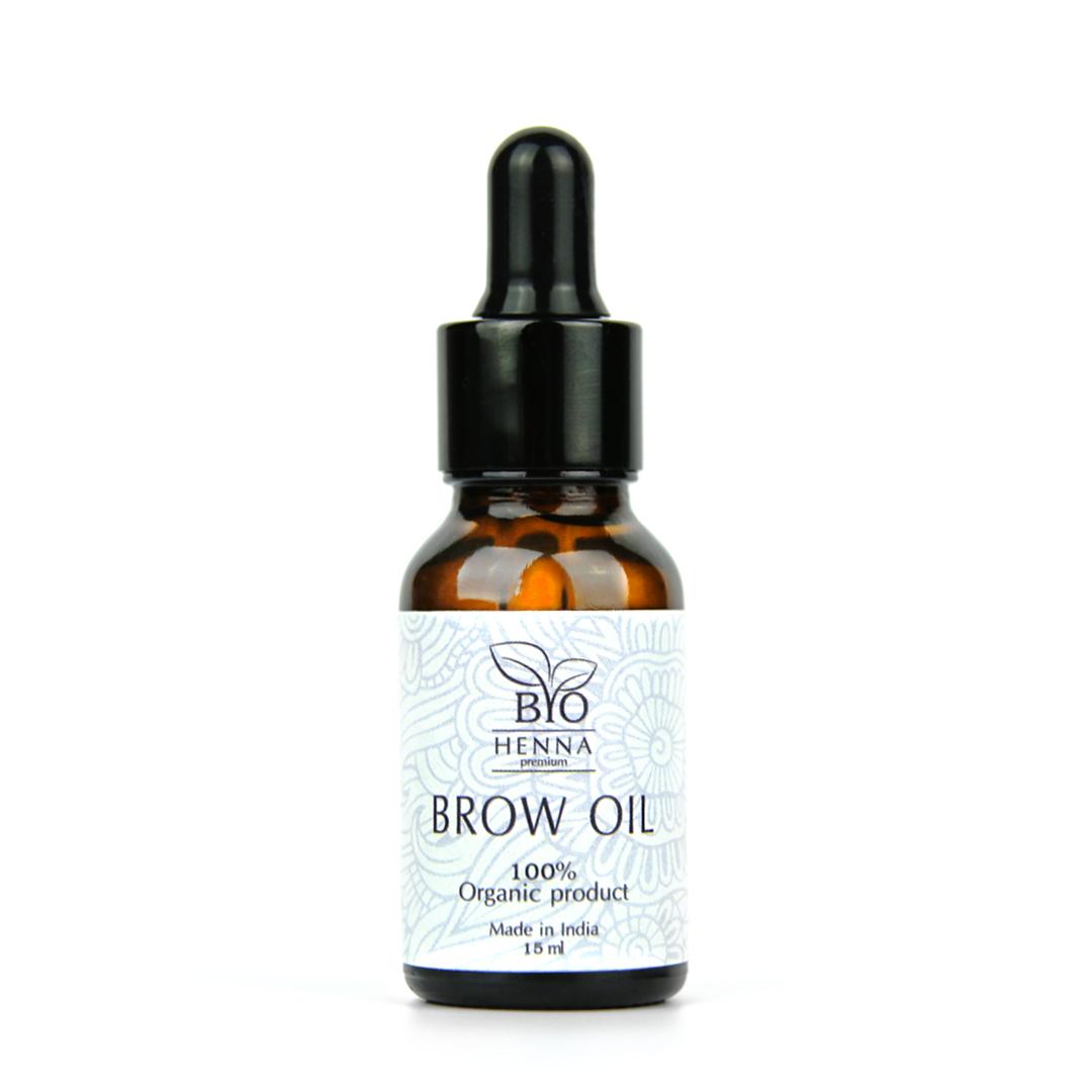 Bio Henna Premium Olejek do brwi 15 ml Henna pudrowa