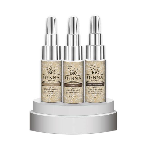 Bio Henna Premium w buteleczce 10 g Oprawa Oka