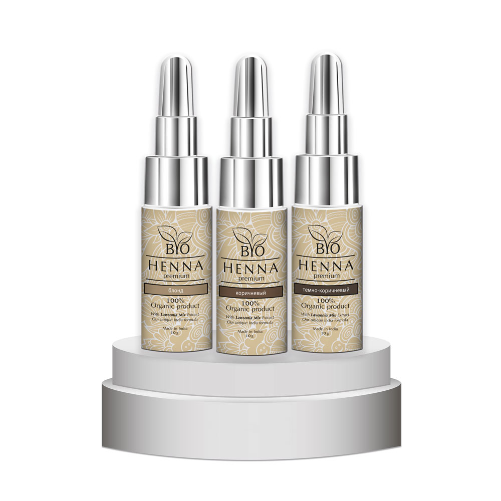 Bio Henna Premium w buteleczce 10 g Henna