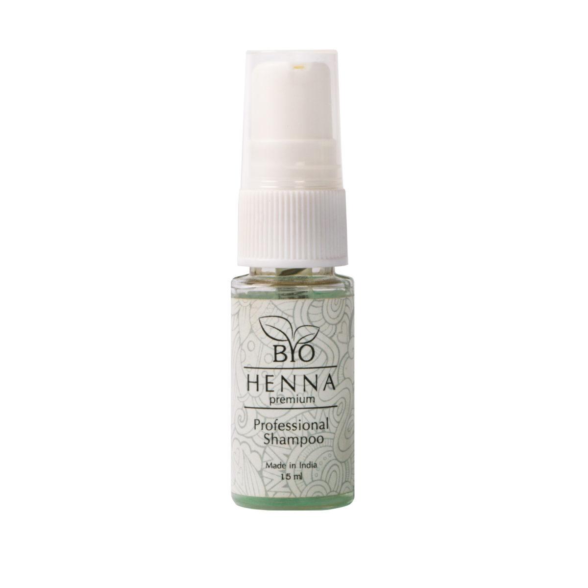 Bio Henna Premium Professional Shampoo 15 ml Henna pudrowa