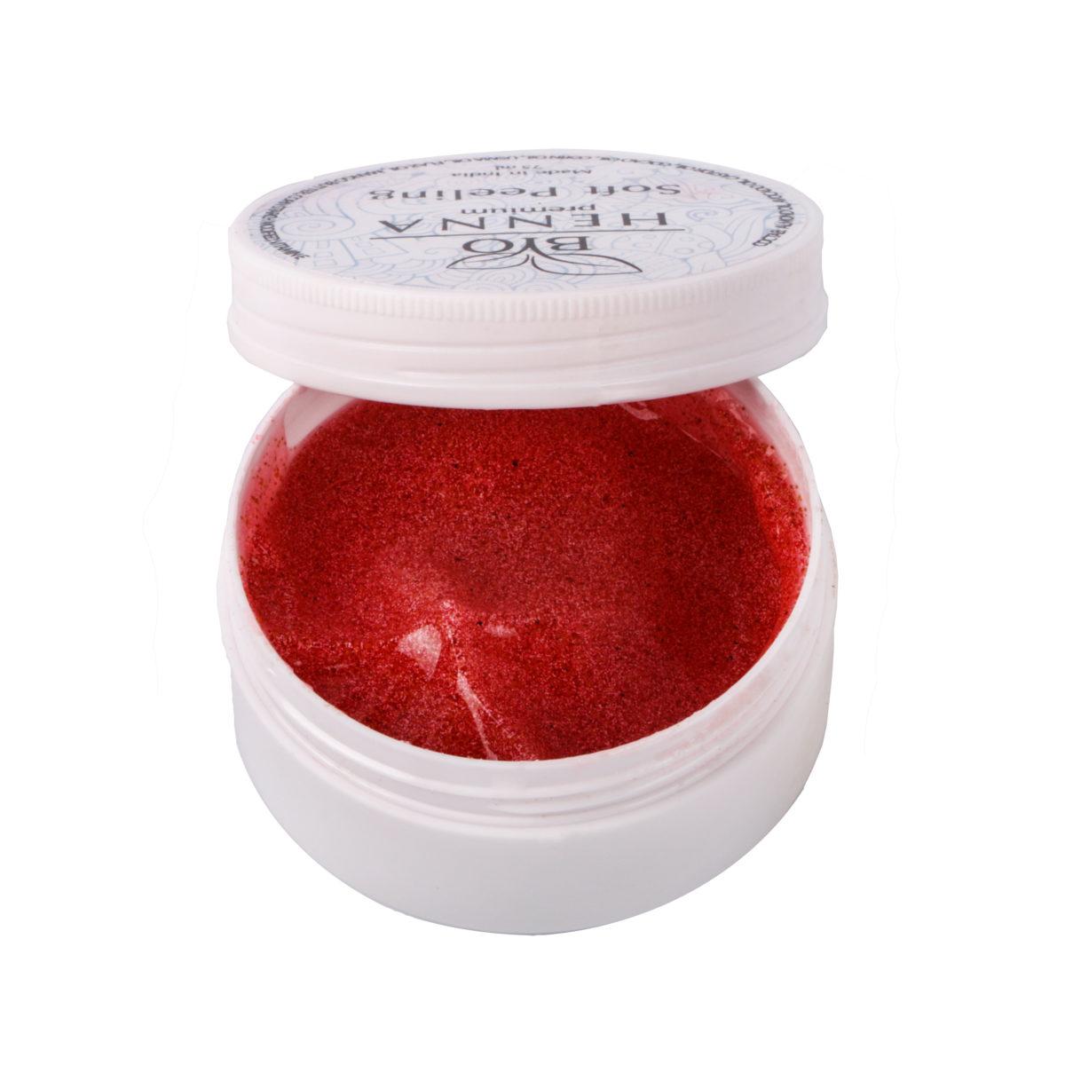 Bio Henna Premium Soft Peeling 75 ml Henna pudrowa