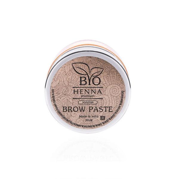 Bio Henna Premium Pasta do brwi 30 ml (złota) Oprawa Oka