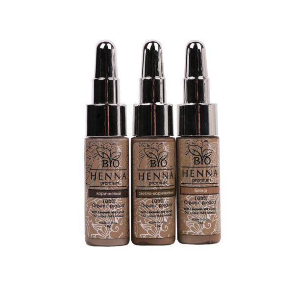 Bio Henna Premium Pędzel nr 5 Henna pudrowa