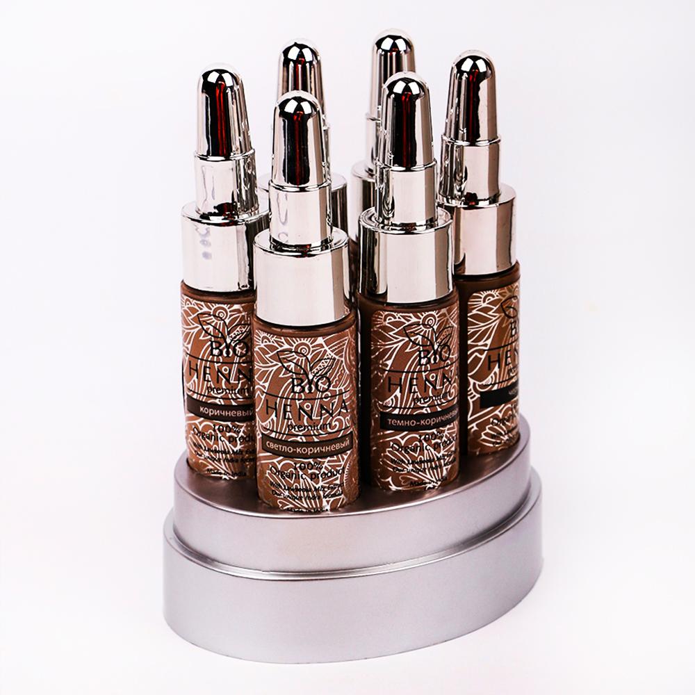 Bio Henna Premium Zestaw 6 buteleczek (6x10g) Henna