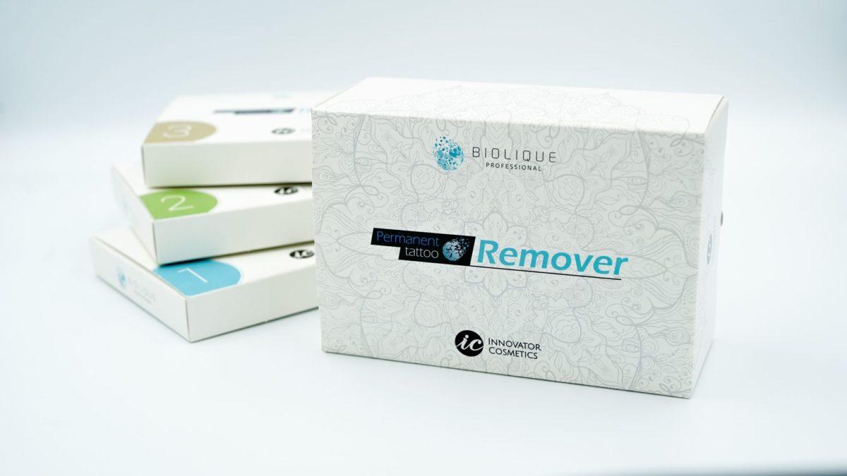 Biolique Professional Bio Remover SET Makijaż permanentny